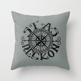 Stas Reskon - Chasing Danger Throw Pillow