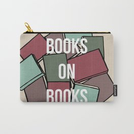 Books on Books Carry-All Pouch