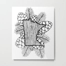 Minnesota Outdoors Metal Print