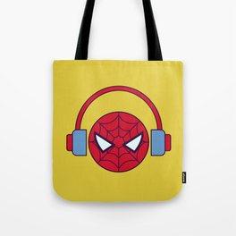 Spider-man Homecoming Minimalist Poster - Headphones Tote Bag