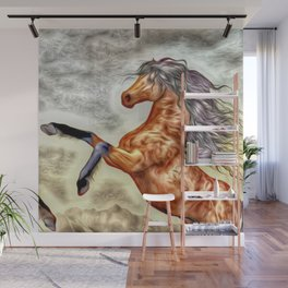 Painted Horse 3 Wall Mural