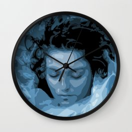 Wrapped In Plastic Wall Clock