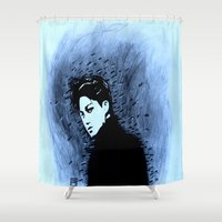 kpop Shower Curtains featuring Shadow Walker by Ahri Tao