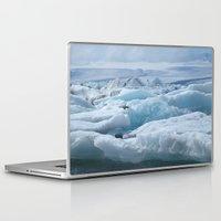 iceland Laptop & iPad Skins featuring Jökulsarlon Iceland by seraphina