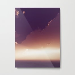 Reversal Dimension Metal Print