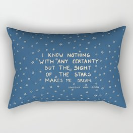 sight of the stars makes me dream Rectangular Pillow