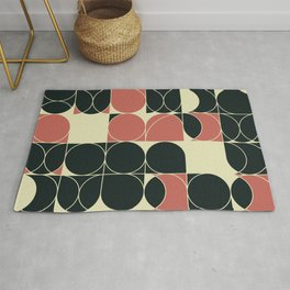Abstract Geometric Artwork 28 Rug