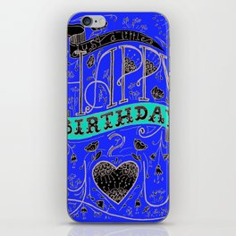 Happy Birthday 2 You iPhone Skin