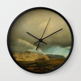 Irish Skies III Wall Clock