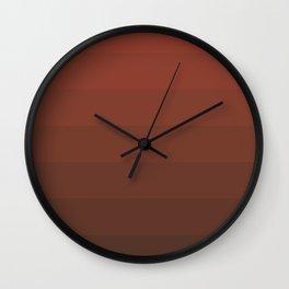 Orange Gradient Wall Clock