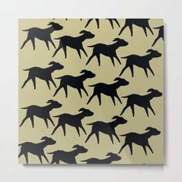 Dogs Design Metal Print
