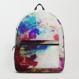 Bohemian print Backpack