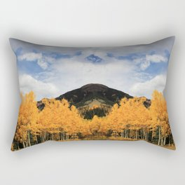 Aspens in Colorado Rectangular Pillow