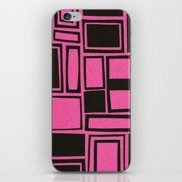 Windows & Frames - Pink iPhone Skin