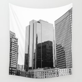 Boston Rooftop Views Wall Tapestry