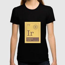 Periodic Elements - 77 Iridium (Ir) T-shirt