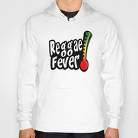 reggae Hoodies featuring Reggae Fever by Marvin Porcher