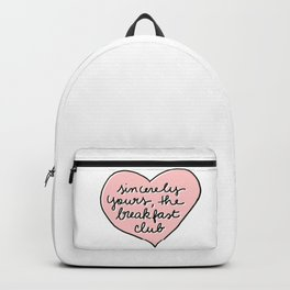 sincerely yours Backpack