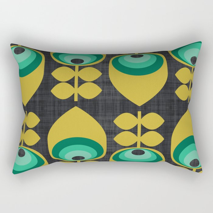 MCM Hoodwinked Grey Rectangular Pillow
