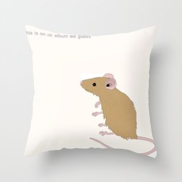Modest Mouse Throw Pillow