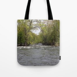 Springtime on the Fox River Tote Bag