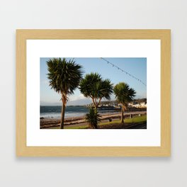 Millport Palms Framed Art Print