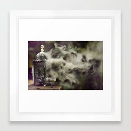Grapevine fires Framed Art Print