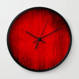 Dark Red Texture Wall Clock