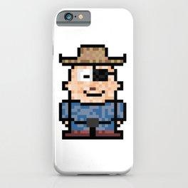 Pirate boy iPhone Case