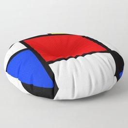 Neo-Plasticism 2 Floor Pillow