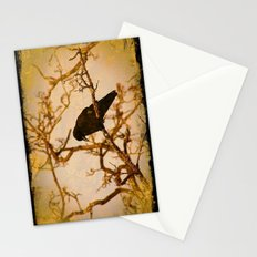 Old crow awaits Stationery Cards
