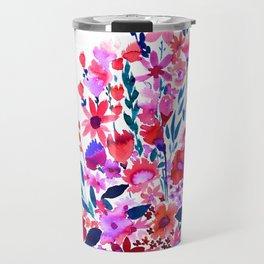 Scarlett Floral Travel Mug
