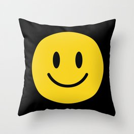 Smile Zone I Throw Pillow