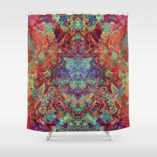 supreme shower curtaingypsyonic | society6