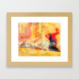 I am found Framed Art Print