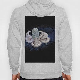 Space station from the fantastic world of the future . artwork Hoody
