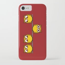 A whole new perspective for the owl iPhone Case