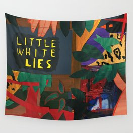 Little White Lies Wall Tapestry