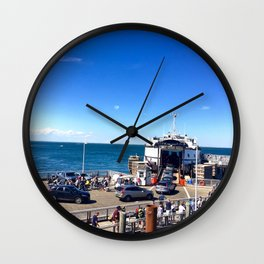 Ferry from Nantucket to Martha's Vineyard Wall Clock