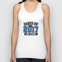 Class Of 2017 Law Unisex Tank Top