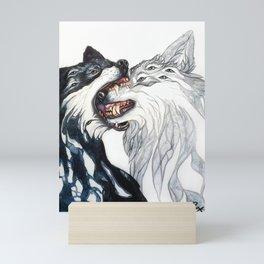 Dream Wolves Mini Art Print