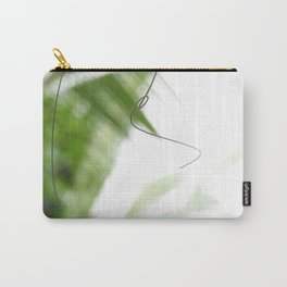Peaceful green shades of graceful nature Carry-All Pouch
