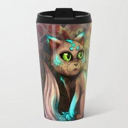 Kitten in the ligths Travel Mug
