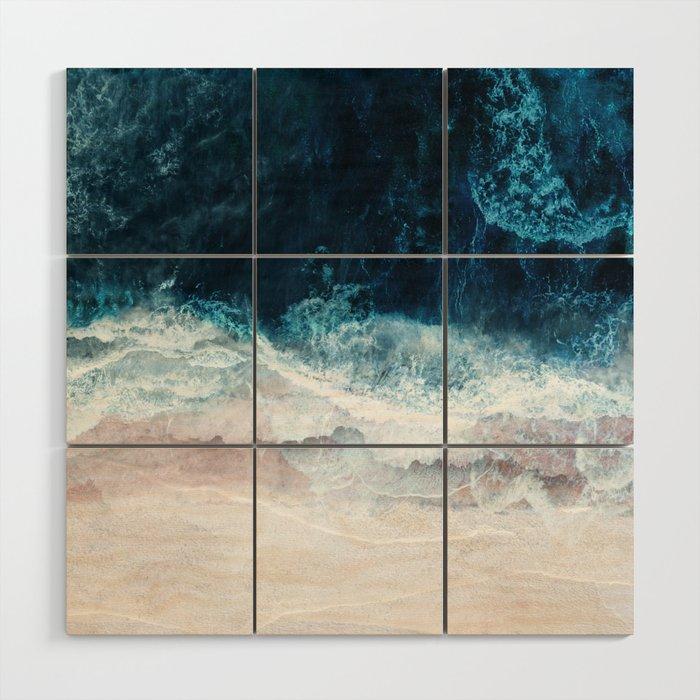 Blue Sea II Wood Wall Art