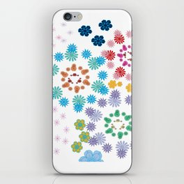 A Game of Flowers iPhone Skin