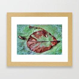 LEAF3 Framed Art Print