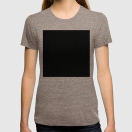 #000000 PURE BLACK T-shirt
