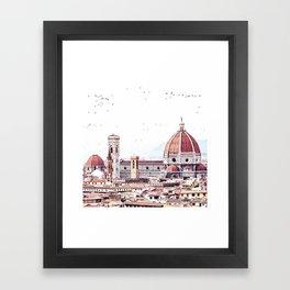 Brunelleschi's masterpiece Framed Art Print
