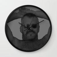 sunglasses Wall Clocks featuring Sunglasses by HuskyWorship