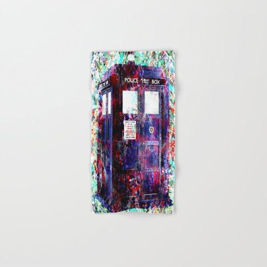 TARDIS Hand & Bath Towel